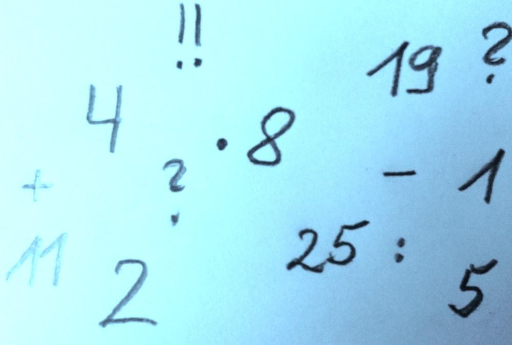 Matheprobleme